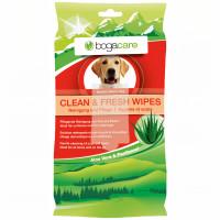bogacare CLEAN & FRESH WIPES Hund, 15 ST, Werner Schmidt Pharma GmbH