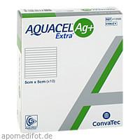 AQUACEL Ag+ Extra 5X5CM, 10 ST, Convatec (Germany) GmbH