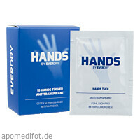 everdry Hands Tücher, 10 ST, Imp GmbH International Medical Products