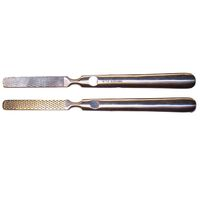 Hornhautraspel mit Metallgriff 2-seitig 17cm, 1 ST, Groß GmbH