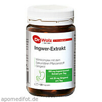 Ingwer-Extrakt Dr.Wolz, 120 ST, Dr. Wolz Zell GmbH