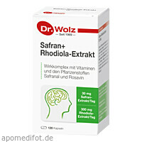 Safran+Rhodiola-Extrakt Dr. Wolz, 120 ST, Dr. Wolz Zell GmbH