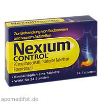 Nexium Control 20mg, 14 ST, GlaxoSmithKline Consumer Healthcare