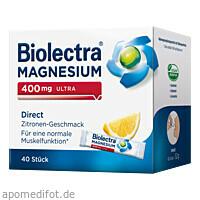 Biolectra Magnesium 400mg Ultra Direct Zitrone, 40 ST, Hermes Arzneimittel GmbH
