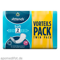 Attends Soft 2 normal, 24 ST, Attends GmbH