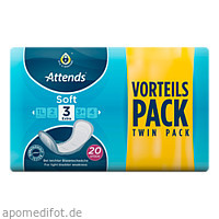 Attends Soft 3 extra, 20 ST, Attends GmbH