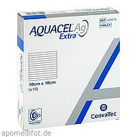 Aquacel Ag Extra 10x10cm Kompressen, 10 ST, kohlpharma GmbH