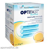 OPTIFAST home Drink Vanille, 8X55 G, Nestle Health Science (Deutschland) GmbH