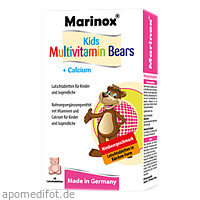 Kids Multivitamin Bärchen + Calcium Marinox, 60 ST, BFB Pharma Handel GmbH