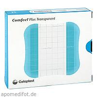 COMFEEL plus transparenter Wundverb.10x10cm 3533, 10 ST, Aca Müller/Adag Pharma AG