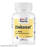 Zinkonat Kapseln 10mg Zinkgluconat, 90 ST, Zein Pharma - Germany GmbH