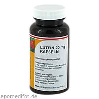 Lutein 20 mg, 90 ST, Reinhildis-Apotheke
