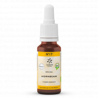 BACHBLUETE 17 HORNBEAM BIO, 20 ML, Lemon Pharma GmbH & Co. KG