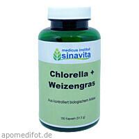 Chlorella + Weizengras, 150 ST, Medicus Institut Sinavita