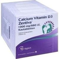 Calcium Vitamin D3 Zentiva 1000mg/880 I.E., 100 ST, Zentiva Pharma GmbH