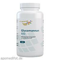 Glucomannan 600, 120 ST, Vita World GmbH
