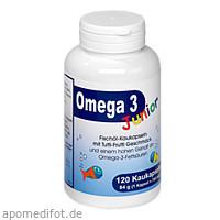 Omega 3 Junior Berco, 120 ST, Berco-ARZNEIMITTEL