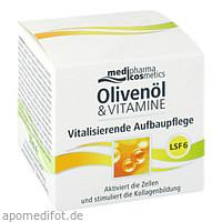 Olivenöl & Vitamine Vitalis. Aufbaupflege mit LSF, 50 ML, Dr. Theiss Naturwaren GmbH