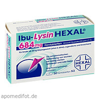 Ibu-LysinHEXAL, 50 ST, HEXAL AG