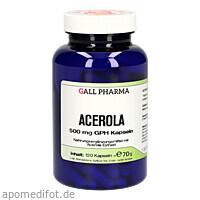 Acerola 500 mg GPH Kapseln, 120 ST, Hecht-Pharma GmbH