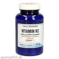Vitamin K2 100ug GPH Kapseln, 120 ST, Hecht-Pharma GmbH