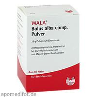 Bolus alba comp. Pulver, 35 G, Wala Heilmittel GmbH