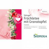 Sidroga Wellness Früchtetee mit Granatapfel, 20X2.0 G, Sidroga Gesellschaft Für Gesundheitsprodukte mbH