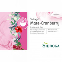 Sidroga Wellness Mate-Cranberry, 20X2.0 G, Sidroga Gesellschaft Für Gesundheitsprodukte mbH