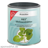 H&S Melissenblätter (loser Tee), 50 G, H&S Tee - Gesellschaft mbH & Co.