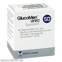 GlucoMen areo Sensor, 50 ST, Berlin-Chemie AG
