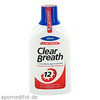 Mundwasser Frischer Atem Clear Breath Lactona, 300 ML, Megadent Deflogrip Gerhard Reeg GmbH