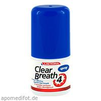 Mundspray Frischer Atem Clear Breath Lactona, 25 ML, Megadent Deflogrip Gerhard Reeg GmbH
