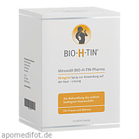 Minoxidil Bio-H-Tin Pharma 20mg/ml Lösung, 3X60 ML, Dr. Pfleger Arzneimittel GmbH