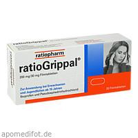 ratioGrippal 200 mg/30 mg Filmtabletten, 20 ST, ratiopharm GmbH