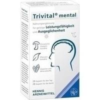 Trivital mental, 56 ST, Hennig Arzneimittel GmbH & Co. KG