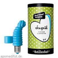 Belladot/Ingrid Fingervibrator m.Batterien blau, 1 ST, Mangostan - Gold Ltd. & Co. KG