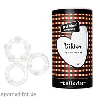 Belladot/Viktor Silikonpenisringe in 3 Größen, 1 ST, Mangostan - Gold Ltd. & Co. KG