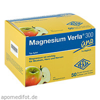 Magnesium Verla 300 Apfel, 50 ST, Verla-Pharm Arzneimittel GmbH & Co. KG
