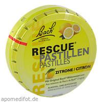 Bach Original Rescue Pastillen Zitrone, 50 G, Nelsons GmbH