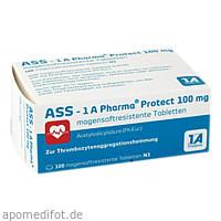 ASS - 1 A Pharma protect 100 mg, 100 ST, 1 A Pharma GmbH