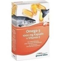 gesund leben Omega-3 Kapseln + Vitamin E, 60 ST, Gehe Pharma Handel GmbH