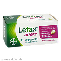 Lefax intens Flüssigkapseln 250mg Simeticon, 50 ST, Bayer Vital GmbH