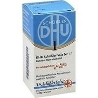 Biochemie DHU 1 Calcium fluoratum D12, 10 G, Dhu-Arzneimittel GmbH & Co. KG