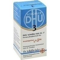 Biochemie DHU 3 Ferrum phosphoricum D12, 10 G, Dhu-Arzneimittel GmbH & Co. KG