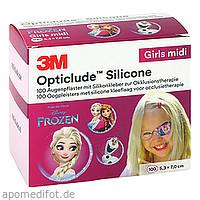 Opticlude 3M Silicone Disney Girls Midi 5.3x7cm, 100 ST, 3M Medica Zwnl.d.3M Deutschl. GmbH