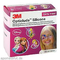 Opticlude 3M Silicone Disney Girls Maxi 5.7x8cm, 100 ST, 3M Medica Zwnl.d.3M Deutschl. GmbH