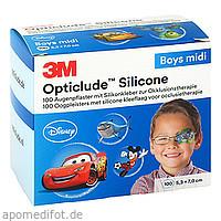 Opticlude 3M Silicone Disney Boys Midi 5.3x7cm, 100 ST, 3M Medica Zwnl.d.3M Deutschl. GmbH