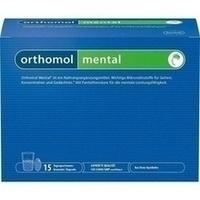 Orthomol Mental Granulat+Kapseln 15 Tagesportionen, 1 P, Orthomol Pharmazeutische Vertriebs GmbH