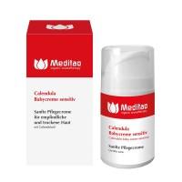 Meditao Calendula Babycreme sensitiv, 50 ML, Taoasis GmbH Natur Duft Manufaktur