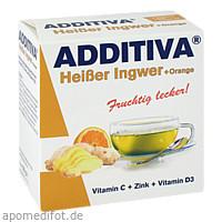 ADDITIVA Heißer Ingwer + Orange, 120 G, Dr.B.Scheffler Nachf. GmbH & Co. KG